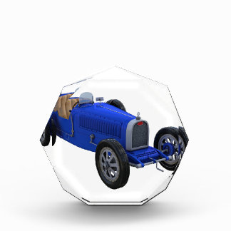 Grand Prix Racing Car in Blue Award