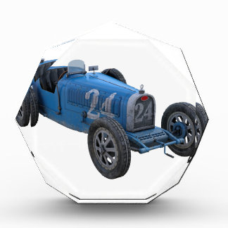 Grand Prix Racing Car in Light Blue Award