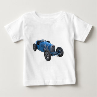Grand Prix Racing Car in Light Blue Baby T-Shirt