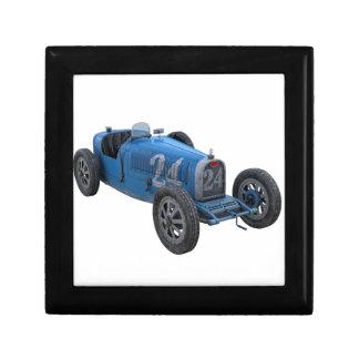 Grand Prix Racing Car in Light Blue Jewelry Box