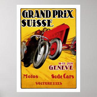 Grand Prix Suisse Posters