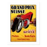 Grand Prix Suisse Tarjetas Postales