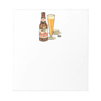 Grand Prize Lager Beer Notepad