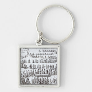Grand Procession the Sovereign and the Knights Keychain