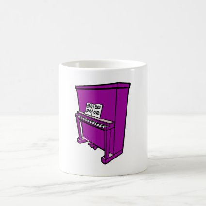 grand purple upright piano with music.png coffee mugs