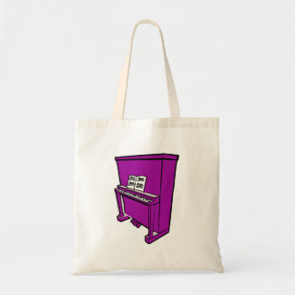 grand purple upright piano with music.png tote bag