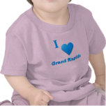 Grand Rapids -- Azul de cielo Camiseta
