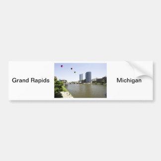 Grand Rapids City Michigan Bumper Sticker