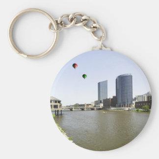 Grand Rapids City Michigan Keychain