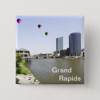 Grand Rapids City Michigan Pinback Button