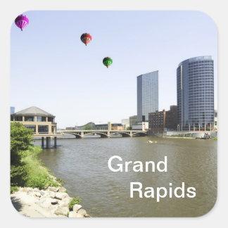 Grand Rapids City Michigan Stickers