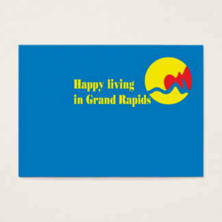 Grand Rapids city's flag Business Card
