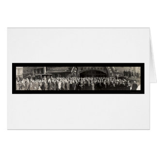 Grand Rapids Convention Photo 1915 Greeting Card