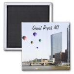 Grand Rapids Michigan 2 Inch Square Magnet