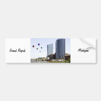 Grand Rapids Michigan Bumper Sticker