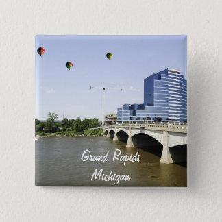Grand Rapids Michigan Button