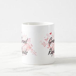 Grand Rapids Michigan City Artistic design with bu Coffee Mug