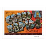 Grand Rapids, Michigan - escenas grandes de la Postal