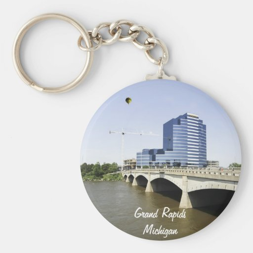 Grand Rapids Michigan Key Chain