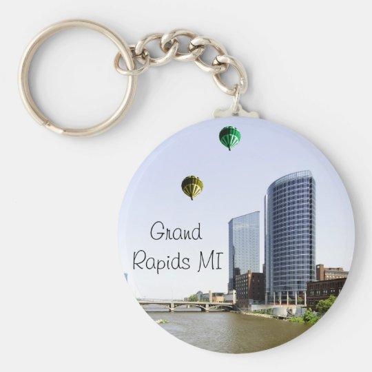 Grand Rapids Michigan Keychain