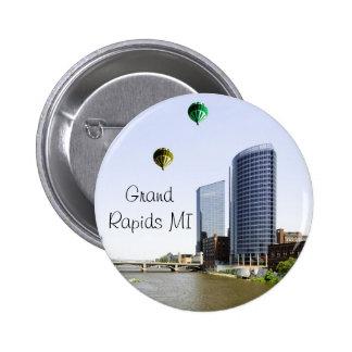 Grand Rapids Michigan Pinback Button