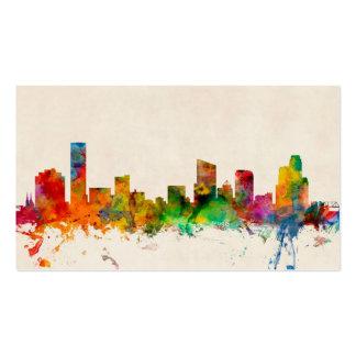 Grand Rapids Michigan Skyline Cityscape Business Card