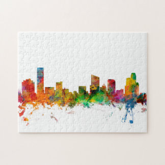 Grand Rapids Michigan Skyline Jigsaw Puzzle