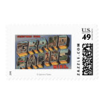 Grand Rapids, Minnesota - Large Letter Scenes Postage Stamps