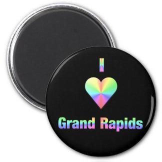 Grand Rapids -- Pasteles Imán Redondo 5 Cm