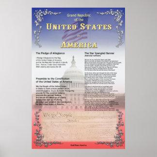 Grand Republic of the USA Print