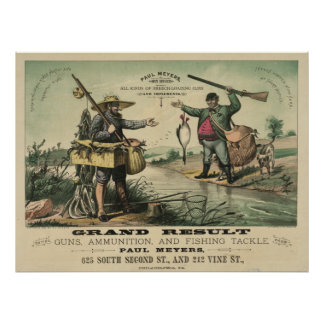 Grand Result Buying Guns [1882] Poster
