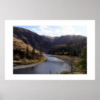 Grand Rhonde River Oregon Print