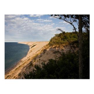 Grand Sable Dunes In Summer-postcardcopy Postcard
