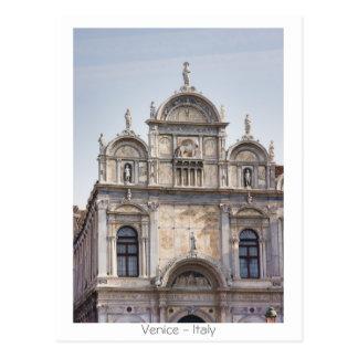 Grand School of St Marco Postcard