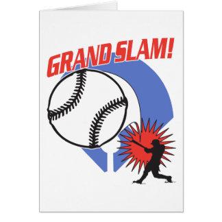 Grand Slam Baseball Greeting Cards