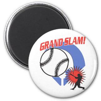 Grand Slam Baseball Refrigerator Magnet