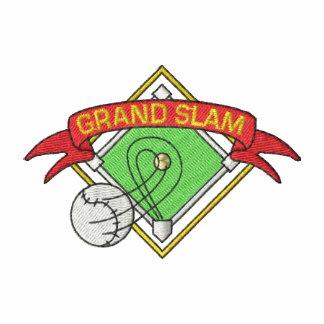 Grand Slam Camiseta Polo Bordada