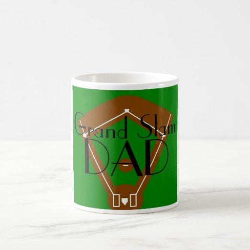 Grand Slam Dad Coffee Mugs