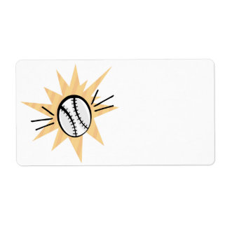 Grand Slam Personalized Shipping Label