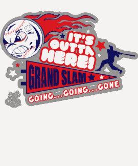 Grand Slam Ladies 3/4 Sleeve Raglan T Shirt