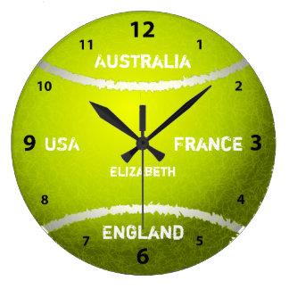 Grand Slam Tennis Ball Clock