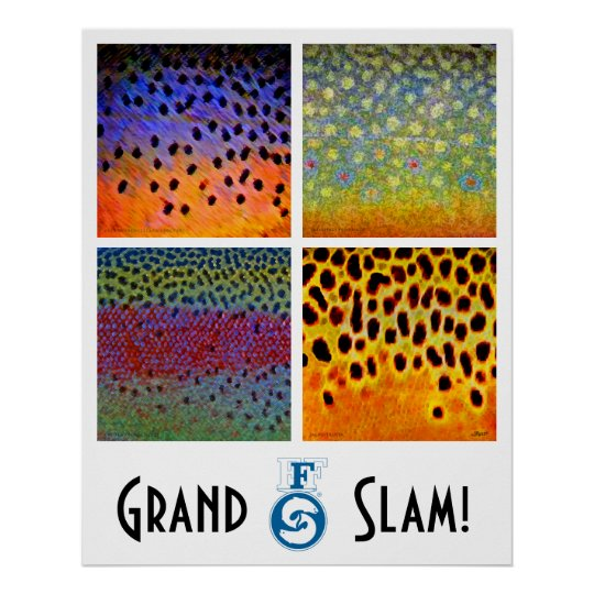 Grand Slam Trout Poster
