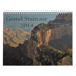 Grand Staircase Calendar