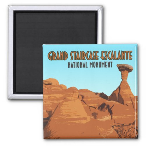 Grand Staircase Escalante National Monument Magnet