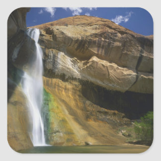 GRAND STAIRCASE-ESCALANTE NATIONAL MONUMENT, SQUARE STICKER