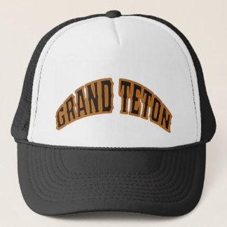 Grand Teton Bear Logo Hat