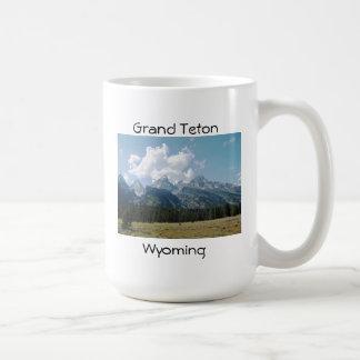 Grand Teton Classic White Coffee Mug