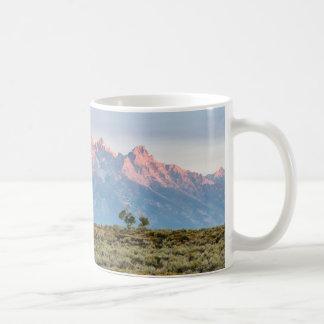 Grand Teton Coffee Cup Classic White Coffee Mug