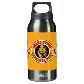 Grand Teton Gold Circle Insulated Water Bottle