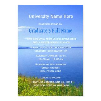 Grand Teton graduation ceremony (convocation) Custom Invite